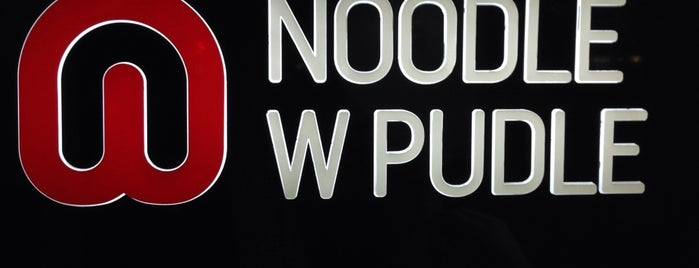 Noodle w Pudle is one of Warsaw.