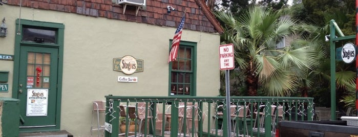 Stogies Jazz Club & Listening Room is one of st. augustine.