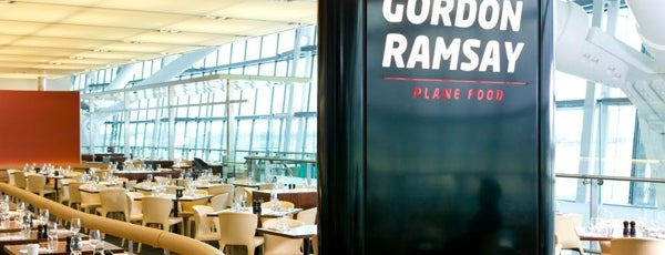 Gordon Ramsay Plane Food is one of London.