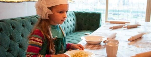 10 ресторанов Киева, куда интересно пойти с детьми