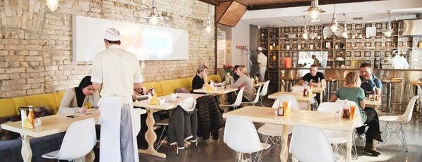 Желток / Yolk is one of 10 ресторанов Киева, куда интересно пойти с детьми.