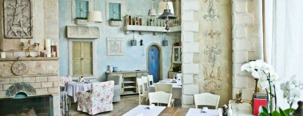 Тарелка is one of 10 ресторанов Киева, куда интересно пойти с детьми.