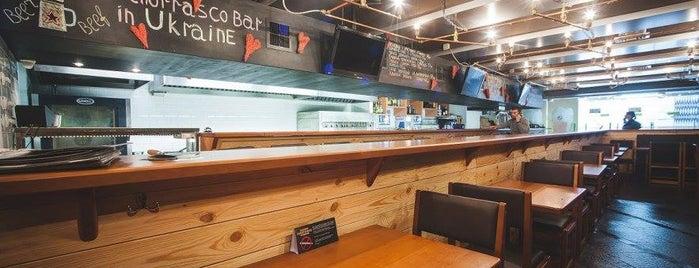 PIVBAR Beer&Grill is one of Евромайдан: где поесть, согреться и найти помощь.