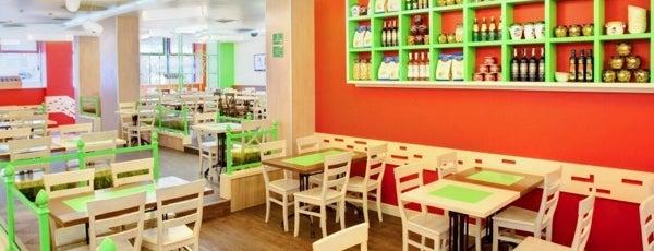 Оливье is one of 10 самых популярных новых ресторанов Киева (Май).