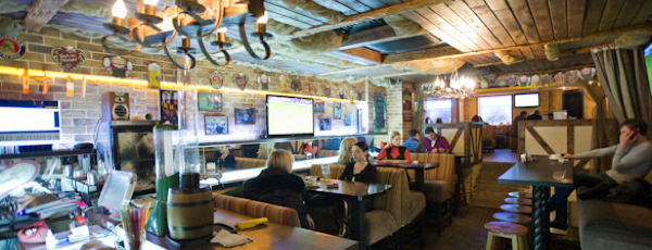Самые популярные бары Киева