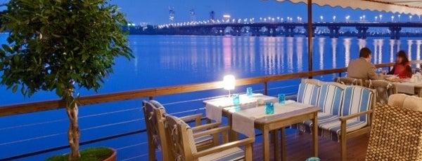 10 заведений у воды в Киеве