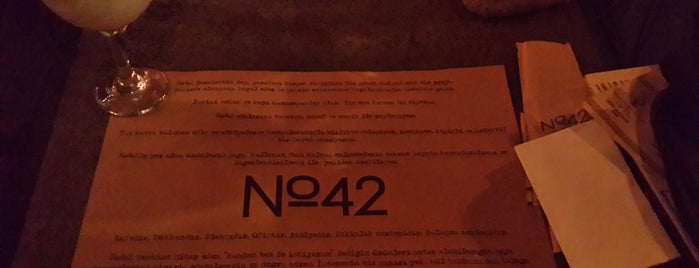 No:42 is one of Lieux qui ont plu à Erk.
