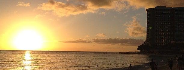 Waikīkī Beach is one of Hawaii.