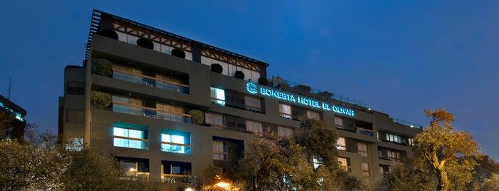 Sonesta Hotel El Olivar is one of Nicolas : понравившиеся места.