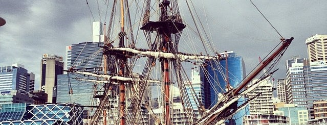 Australian National Maritime Museum is one of Ships (historical, sailing, original or replica).