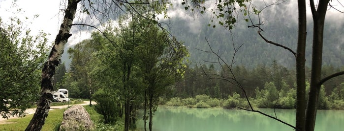 Lago di Dobbiaco is one of Lugares favoritos de -.