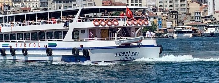 Eminönü Boğaz Turu is one of Fadik'in Beğendiği Mekanlar.
