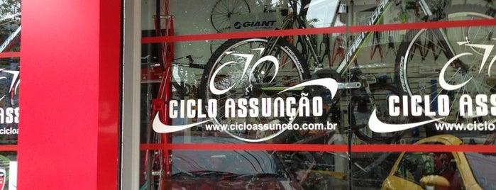 Ciclo Assunção is one of Kleber'in Beğendiği Mekanlar.
