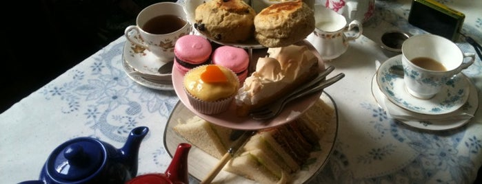 Soho's Secret Tea Room is one of london.