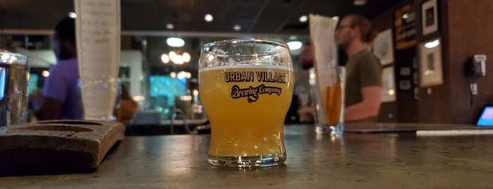 Urban Village Brewing Company is one of New-to-me Philly Breweries.
