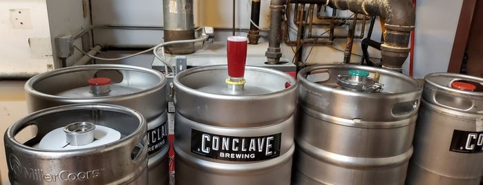 Conclave Brewing is one of Orte, die Cole gefallen.