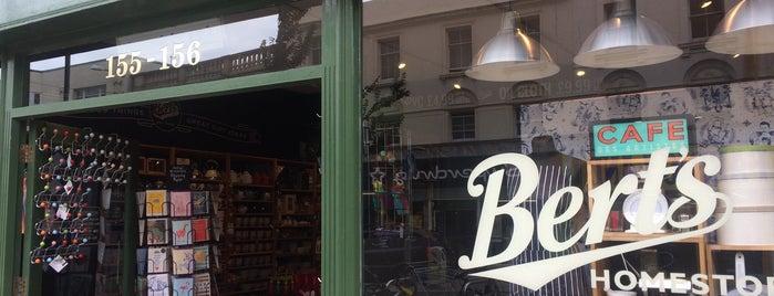 Bert's Homestore is one of Brighton.