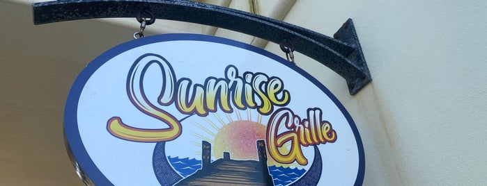Sunrise Grille is one of Places I've Been.
