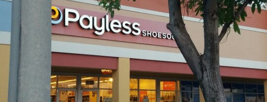 Payless ShoeSource is one of Favorites.