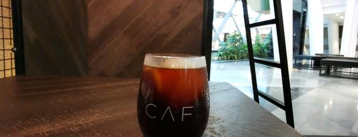 CAF cafe is one of สถานที่ที่ 9aq3obeya ถูกใจ.