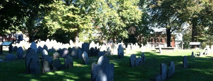 Copp's Hill Burying Ground is one of Beantown.