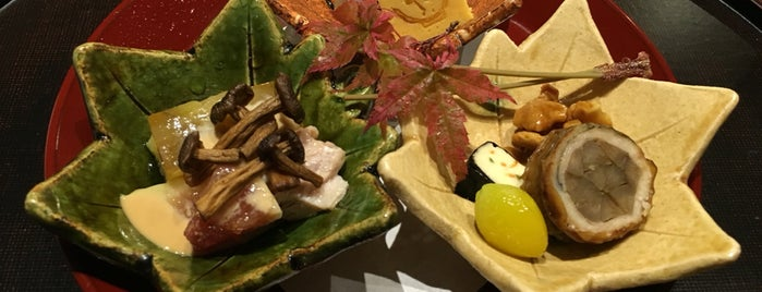 Shunsaiten Tsuchiya is one of Osaka Fine Dining.