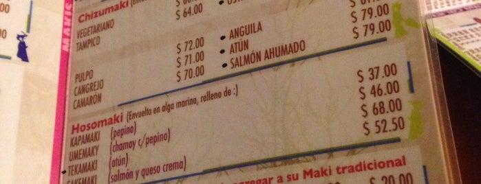 Sushi Mania is one of Tempat yang Disukai Sofi.