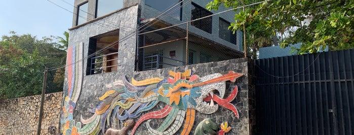 Mural de Diego Rivera is one of Tempat yang Disukai Osiris.