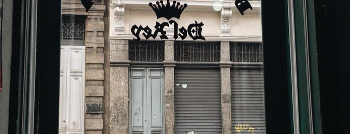 Barbearia Del Rey is one of สถานที่ที่ Thiago ถูกใจ.