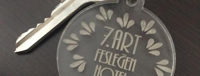 7. Art Fesleğen Hotel is one of Meltem 님이 좋아한 장소.