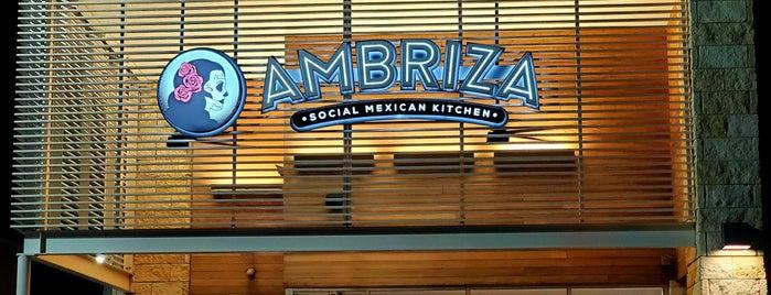 Ambriza is one of Houston.