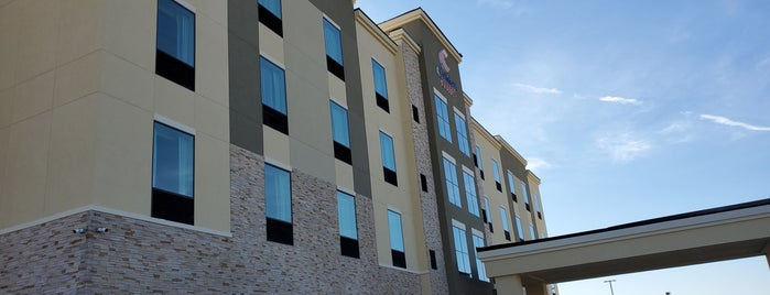 Comfort Suites San Antonio Ft. Sam Houston/Sammc Area is one of Nick 님이 좋아한 장소.