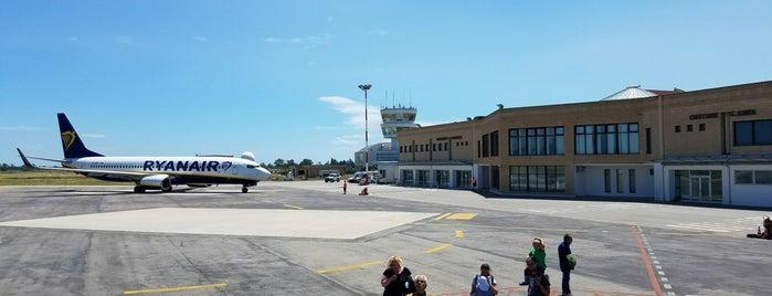Aeroporto di Crotone (CRV) is one of Aeroporti Italiani - Italian Airports.