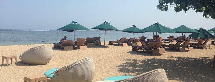 Prama Sanur Beach Hotel is one of Lugares favoritos de Miguel Ángel.
