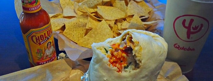 Qdoba Mexican Grill is one of eats.