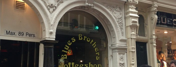 Blues Brothers is one of Amsterdam Coffeeshops 1 of 2.