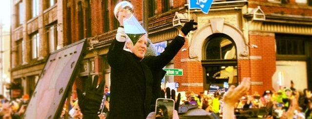Seahawks Super Bowl XLVIII Victory Parade is one of Posti salvati di JRA.