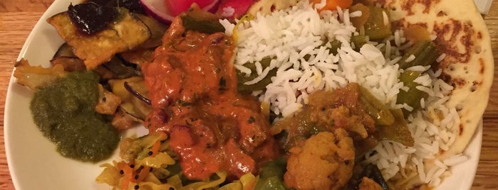 India Garden is one of Gr8 Vegan Veggie Spots in DFW.