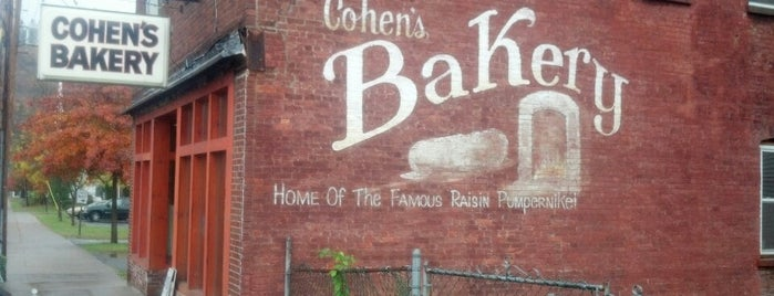 Cohen's Bakery is one of Upstate.