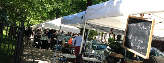 McGolrick Park's Down to Earth Farmers Market is one of NYC Health: NYC Farmers' Markets.