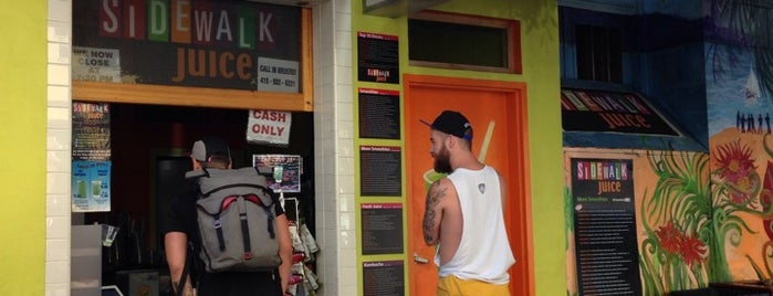 Sidewalk Juice is one of Juice Bars Cali.
