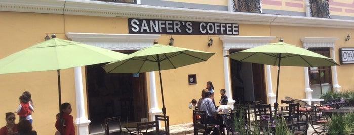 Sanfer's Coffee is one of Locais curtidos por Valeria.
