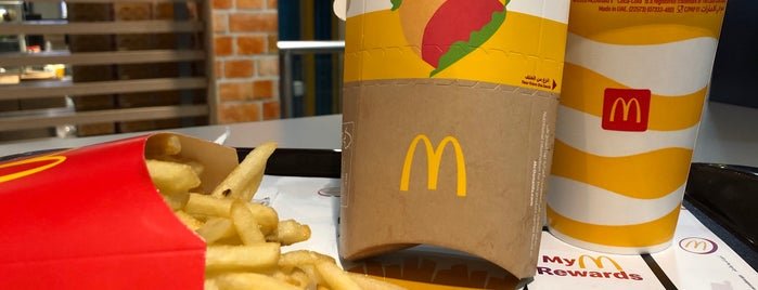 McDonald's is one of Locais curtidos por Abdulrahman.