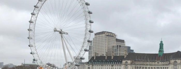 The London Eye is one of Posti che sono piaciuti a Abdulrahman.
