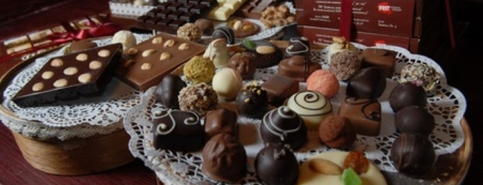 Львівська майстерня шоколаду / Lviv Handmade Chocolate is one of Lieux qui ont plu à Саша.