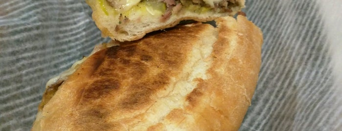 El Super Pan is one of Atlanta food tour: Cuban sandwiches.