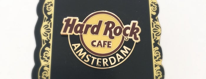 Hard Rock Cafe Amsterdam is one of Orte, die Kevin gefallen.