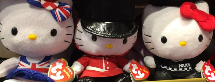 Hamleys is one of Kevin 님이 좋아한 장소.