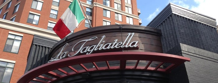 La Tagliatella Clarendon is one of crash course: dc.