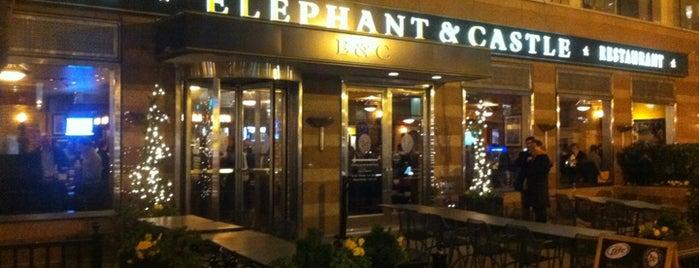 Elephant & Castle Pub and Restaurant is one of Locais curtidos por Eric.